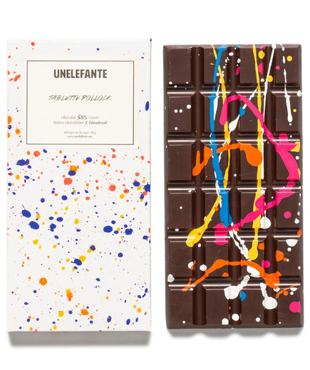 Pollock Chocolate Bar