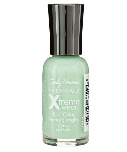 "Sally Hansen Hard As Nails Xtreme Wear Nail Polish in ""Mint Sorbet"""