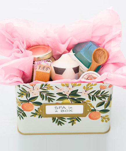 7 diy spa gifts for mom real simple
