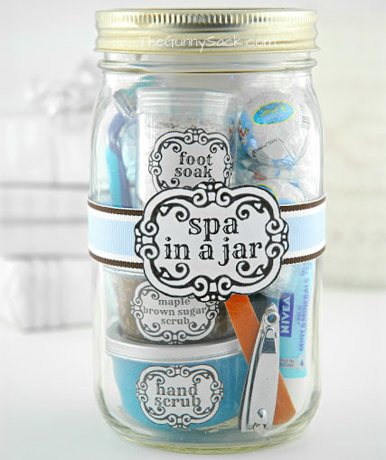 7 diy spa gifts for mom real simple spa in a jar solutioingenieria Choice Image