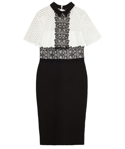 Zara Tube Dress with Lace Top