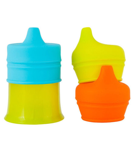 Snug Spout Universal Silicone Sippy Lids and Cup