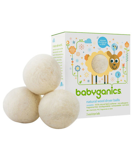 Babyganics Natural Wool Dryer Balls