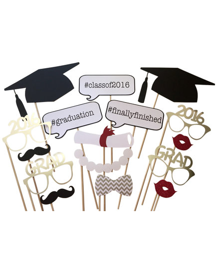 Graduation Photo Booth Props