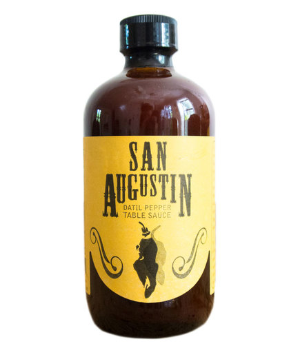 San Augustin Smoked Datil Pepper Sauce