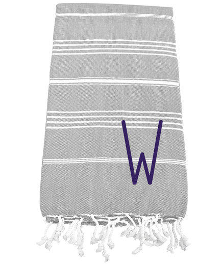 Personalized Turkish Beach Towel