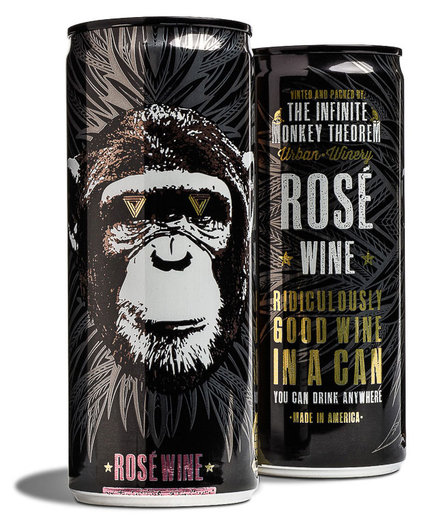 The Infinite Monkey Theorem Rose Can 4-Pack