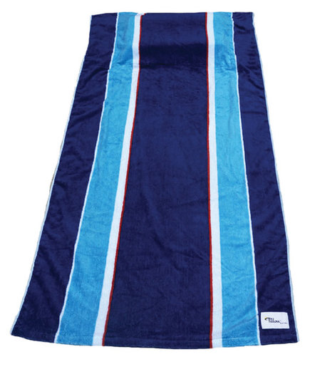 Pillowed Beach Towel
