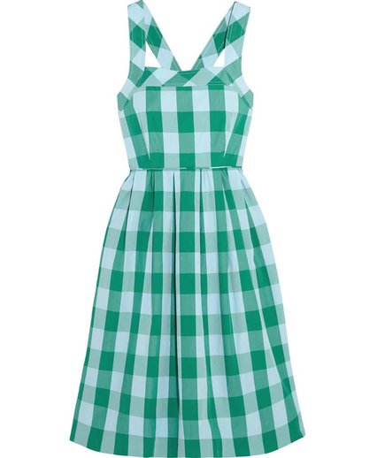 J Crew Karina Gingham Dress