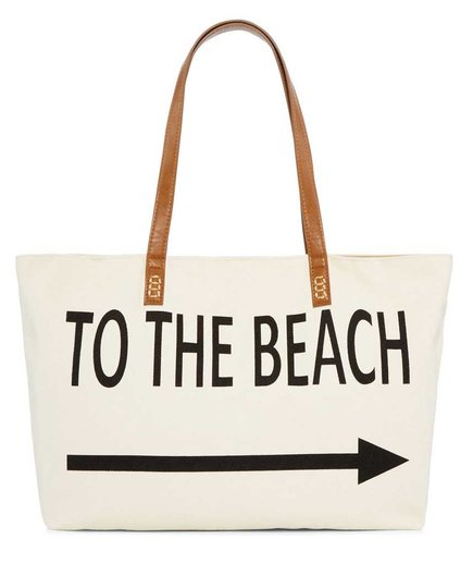 Straw Studios Graphic Canvas Tote