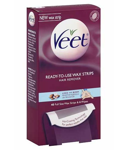 Veet Ready to Use Hair Removal Wax Strips