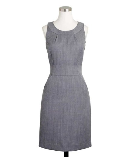 J. Crew Factory Wool Dress With Pockets