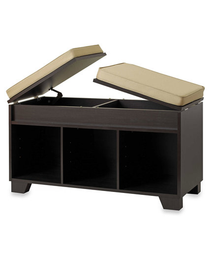 Real Simple® 3-Cube Split-Top Bench Storage Unit