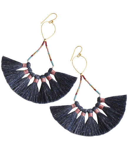 Bluma Project Tassel Earrings