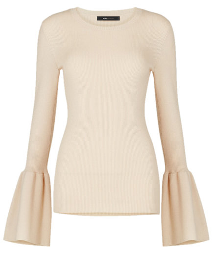 BCBG Max Azria Bell-Sleeve Sweater