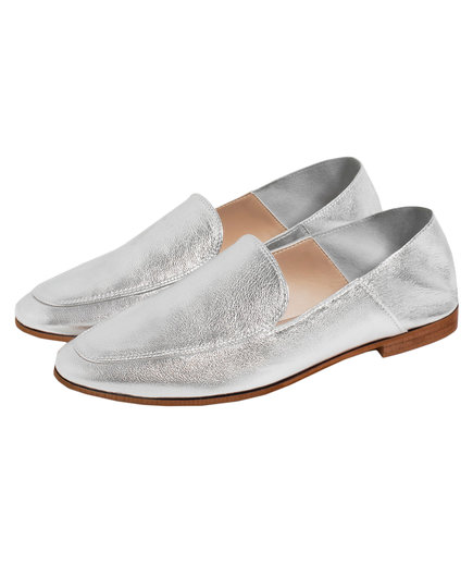 Zara Laminated Loafer