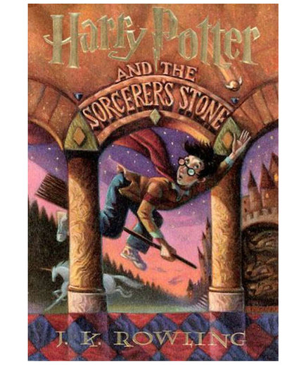 Harry Potter and the Sorcerer's Stone, by J.K. Rowling (HIGH SCHOOL BOOKS)