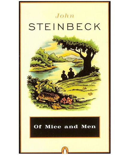 Of Mice and Men, by John Steinbeck (Banned Books 2017)
