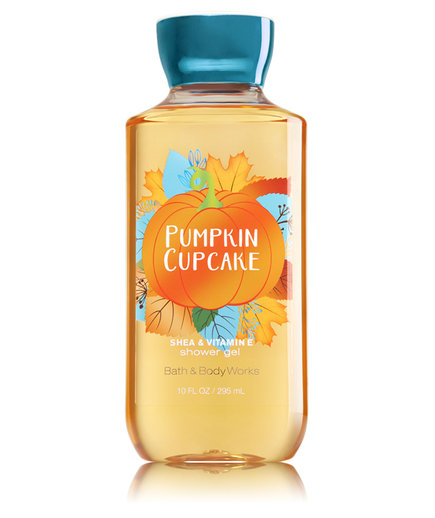 Bath and Body Works Pumpkin Cupcake Shower Gel