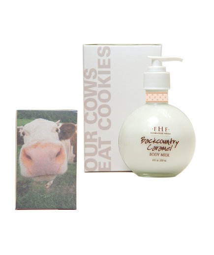 Farmhouse Fresh Backcountry Caramel Body Milk Lotion