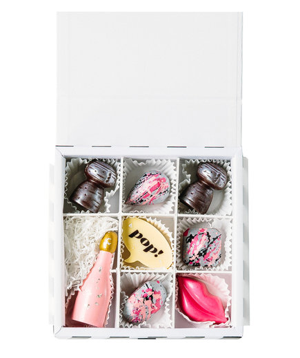 Pop! Champagne Chocolate Box