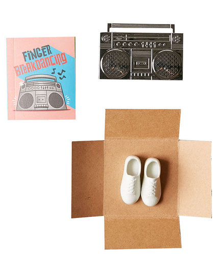 Finger Breakdancing Boom Box Kit
