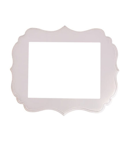 Ornate Blush Frame