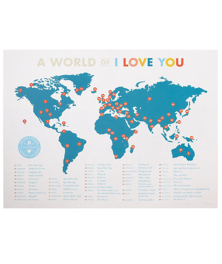 A World of I Love You Poster
