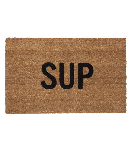 Reed Wilson Design 'Sup' Doormat