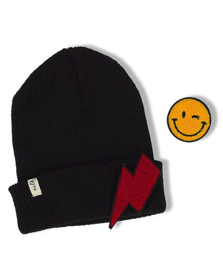 Milk & Soda Patch Beanie