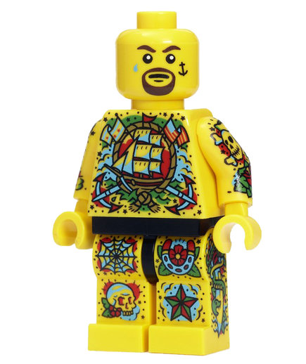 Ink Enthusiast Lego Minifig