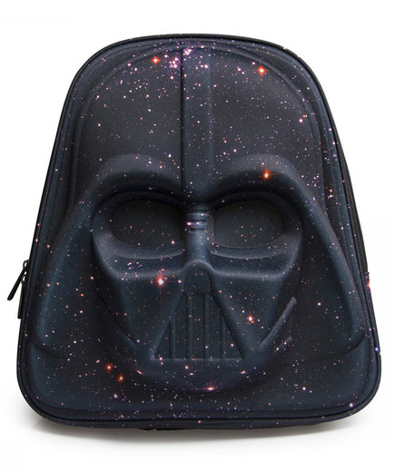 Loungefly x Star Wars Galaxy Print Darth Vader 3D Backpack