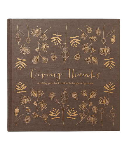 Give Thanks Guest Book