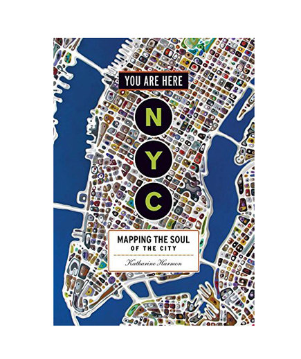 Affordable gifts for readers real simple you are here nyc mapping the soul of the city by katharine harmon fandeluxe Choice Image