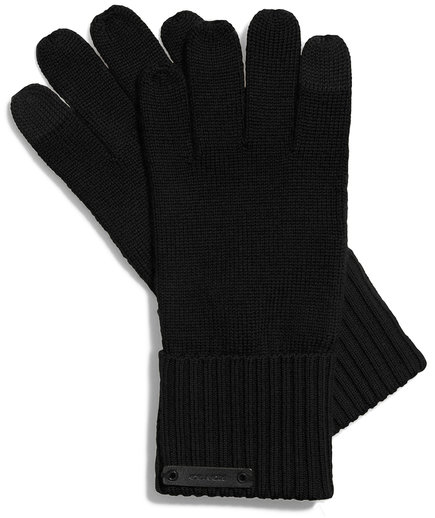 Coach Knit Tech Gloves