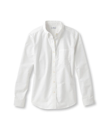L. L. Bean Easy-Care Washed Oxford Shirt