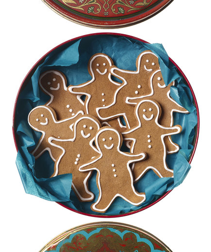 Food Processor Gingerbread Men
