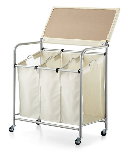 Laundry Sorter With Ironing Board