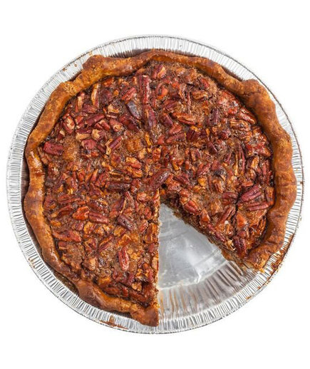 Butter & Scotch Bourbon Ginger Pecan Pie