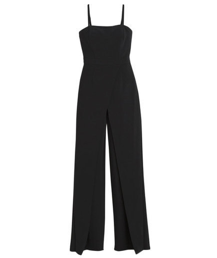 White House Black Market Convertible Strapless Jumpsuit