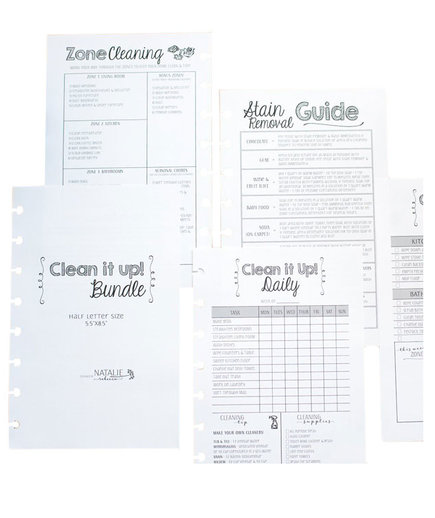 Cleaning Schedule Kit
