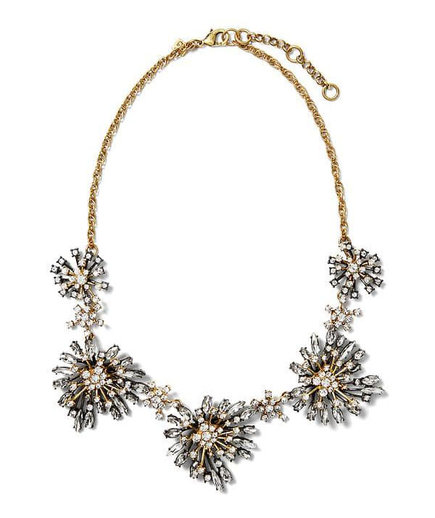 Banana Republic Crystal Starburst Necklace