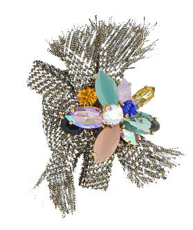 J. Crew Crystal Pin