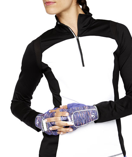 Women's Speed Running Half-zip Pullover