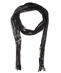 Forever 21 Sequined Oblong Scarf