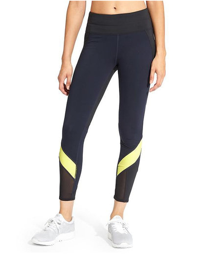Athleta Colorblock Spliced Sonar 7/8 Tight