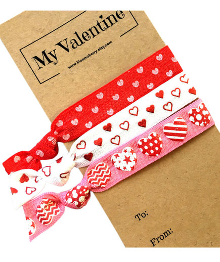 Valentine Hair Tie Set