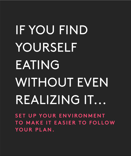 If you find yourself eating without even realizing it…