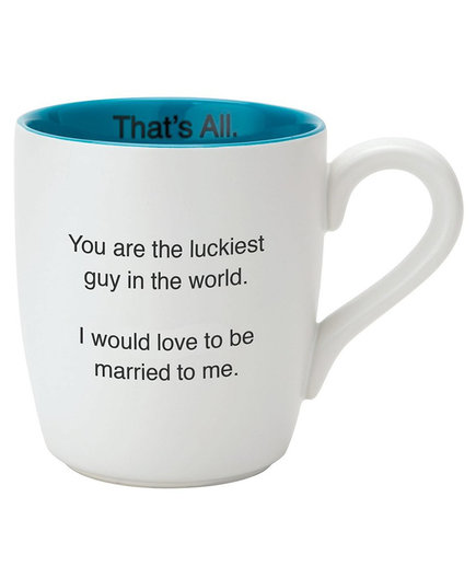 'Luckiest Guy - That's All' Mug