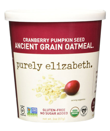 Purely Elizabeth Cranberry Pumpkin Seed Ancient Grain Oatmeal Cup